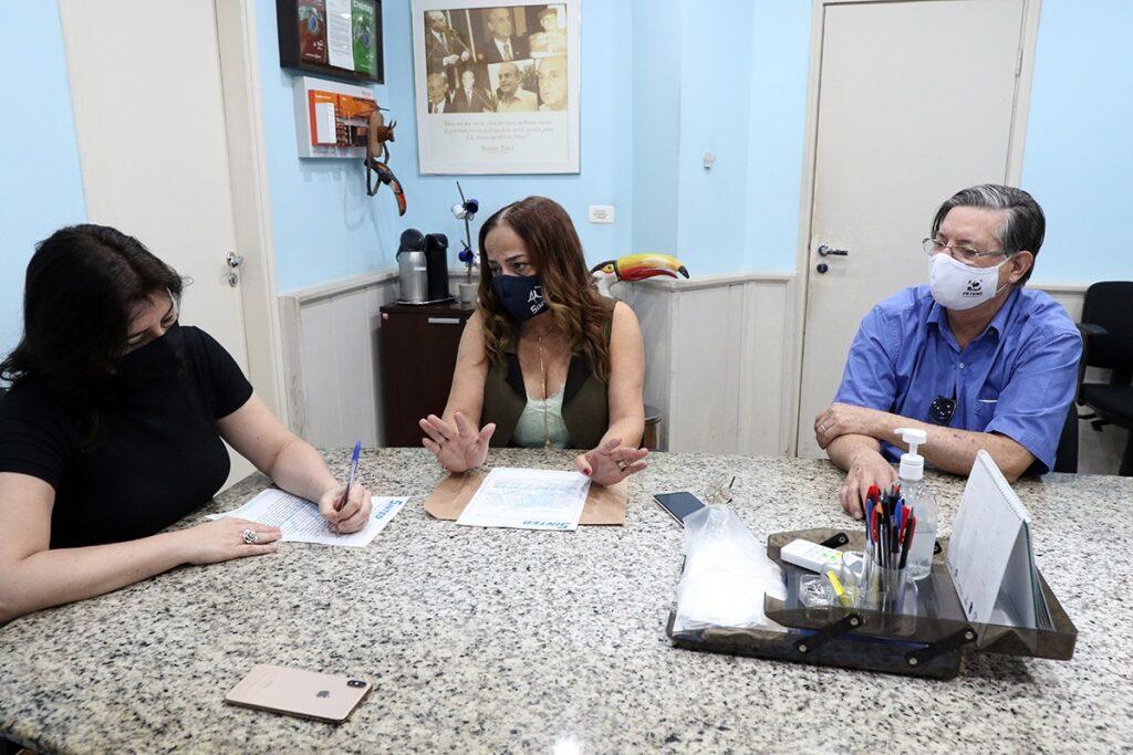 SINTED SOLICITA APOIO DA SENADORA SIMONE TEBET PARA APROVAÇÃO DO FUNDEB PERMANENTE 10