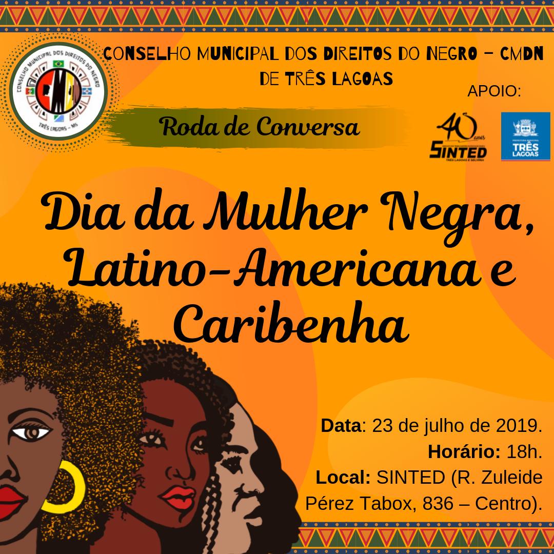 [EVENTO] Dia da Mulher Negra, Latino-americana e Caribenha 1