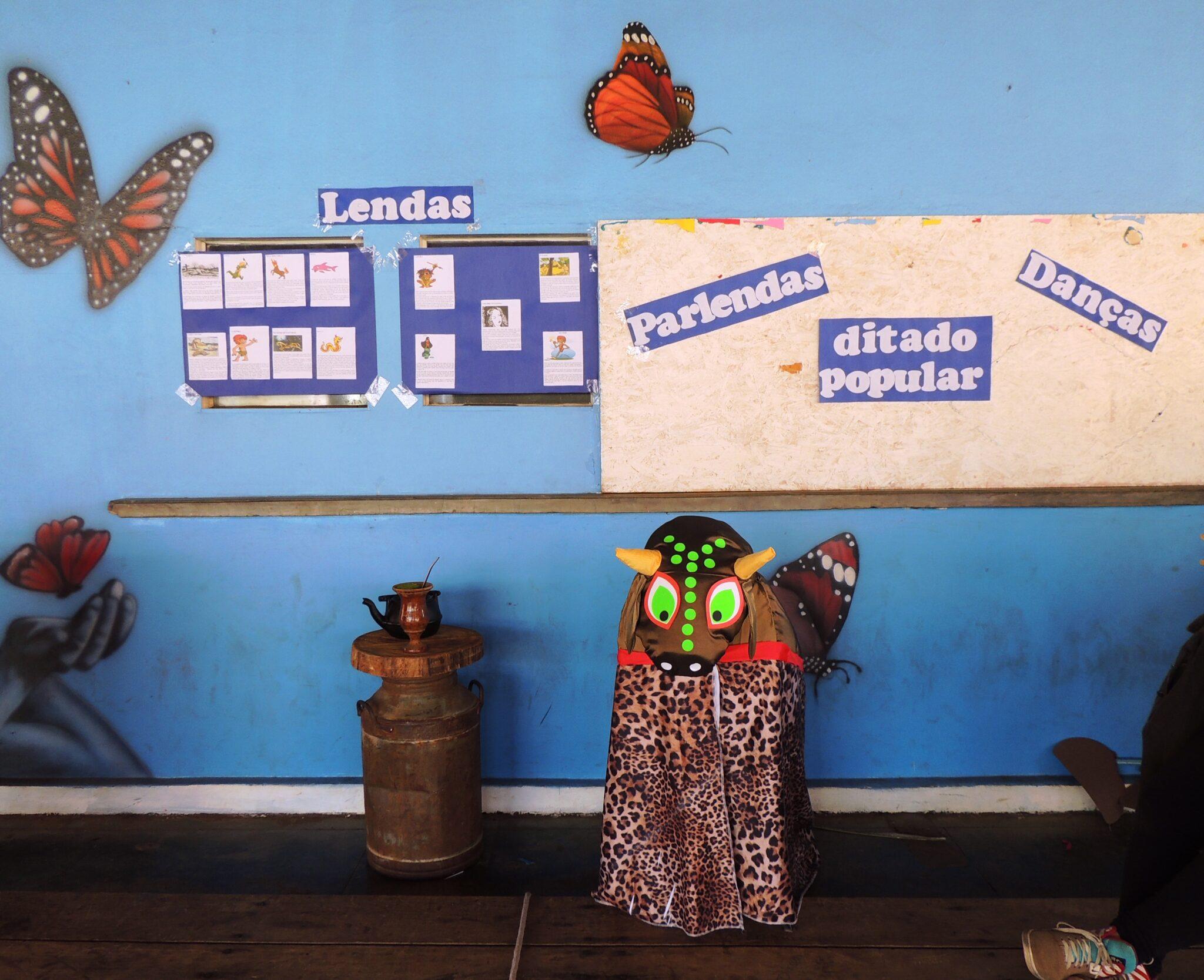ADOTE ESSA IDEIA: Em comemoração ao folclore, Escola Estadual Afonso Pena realiza ação multidisciplinar com alunos 10