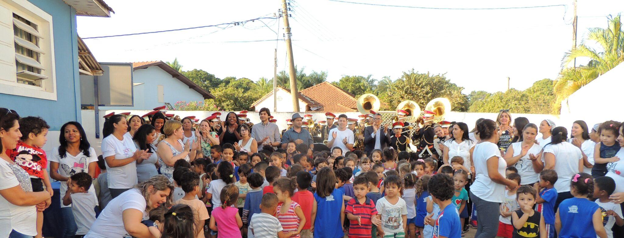 CEI Santa Luzia realiza projeto de musicalização na Educação Infantil 6