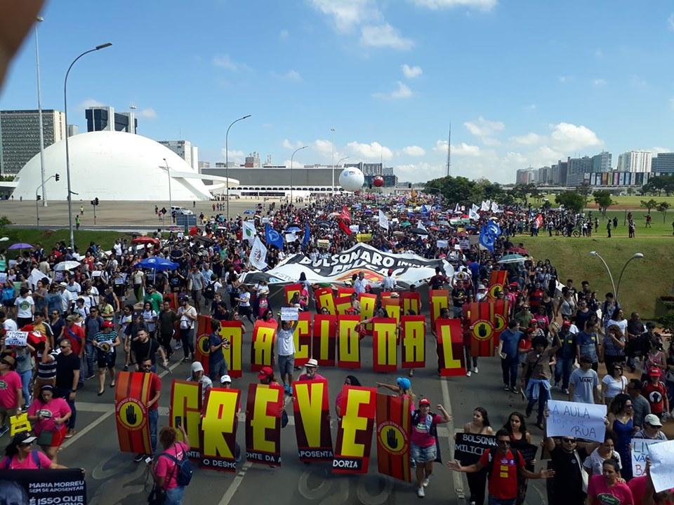 CNTE convoca todos para as mobilizações nos dias 2 e 3 de outubro para barrar os cortes na educação 4