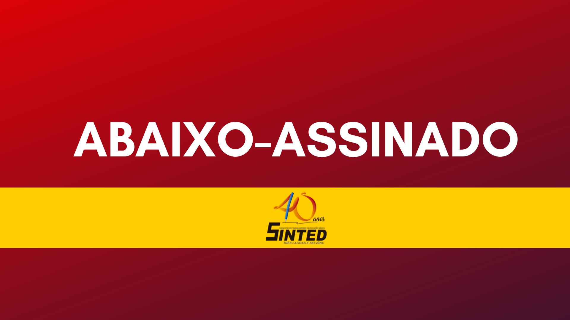 ABAIXO-ASSINADO: Eleições Diretas, Já! 9