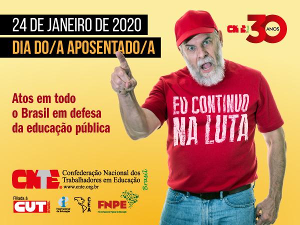 CNTE estimula mobilizações no Dia do Trabalhador Aposentado 15