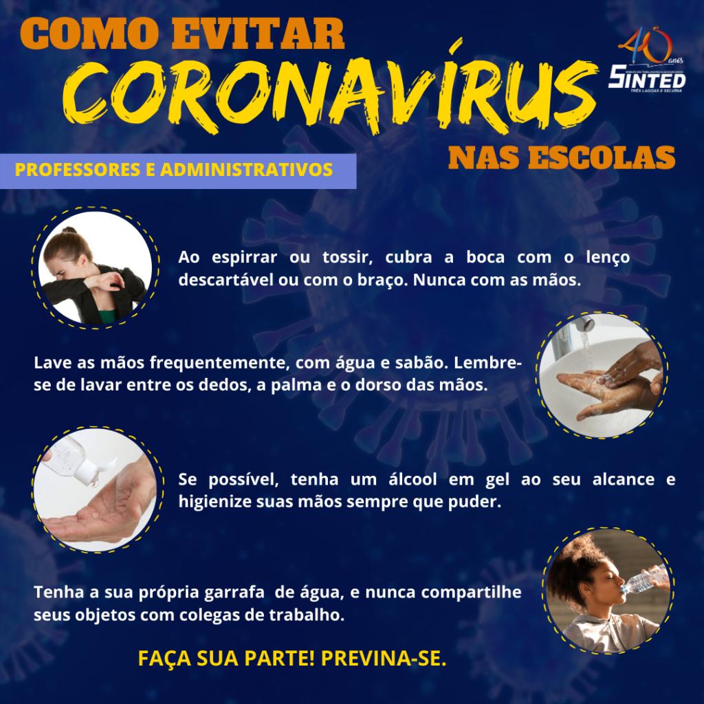 Coronavírus: como as escolas devem agir 5