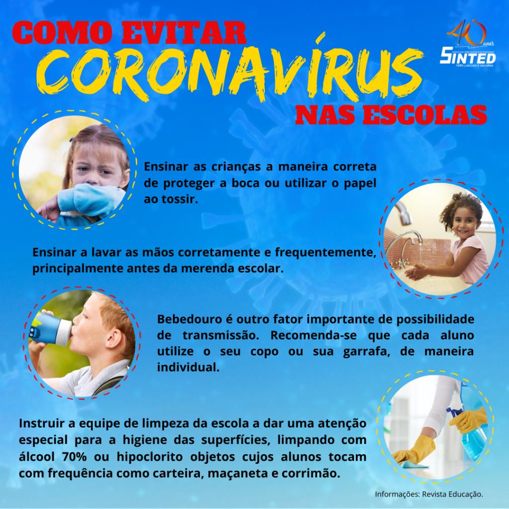 Coronavírus: como as escolas devem agir 4