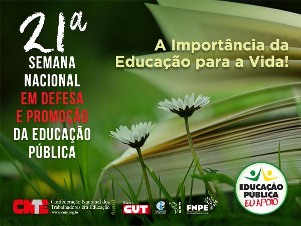 Acesse a programação da 21ª Semana Nacional em Defesa e Promoção da Educação Pública 1