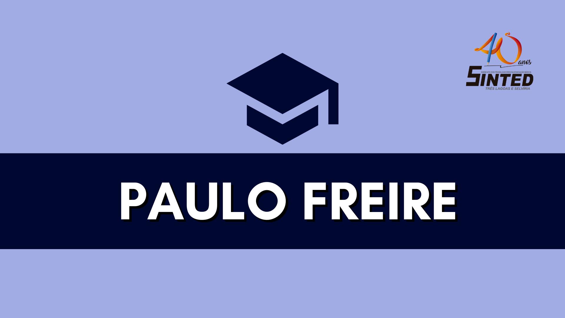 O MÉTODO PAULO FREIRE NÃO FOI IMPLANTADO AQUI 6