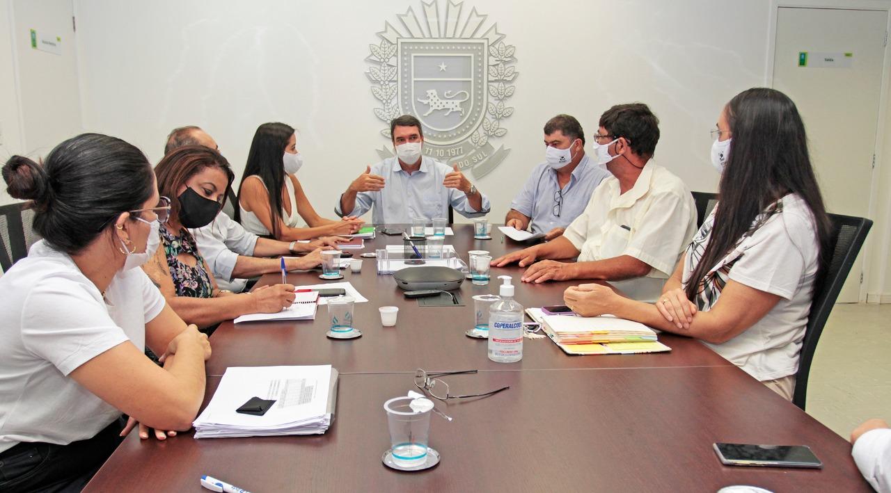Presidente da FETEMS, Professor Jaime Teixeira participa de live onde Governo define Protocolo para volta às aulas e REE terá ensino híbrido em 2021 3