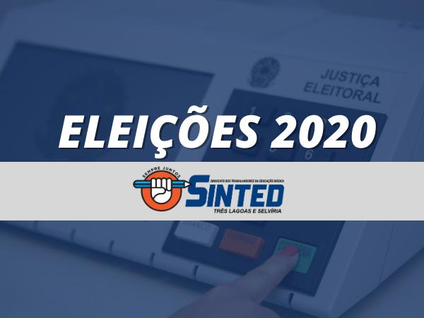 ELEIÇÕES 2020: SINTED ENTREGA CARTA COMPROMISSO DA EDUCAÇÃO PARA CANDIDATOS À PREFEITURA DE TRÊS LAGOAS E SELVÍRIA 8