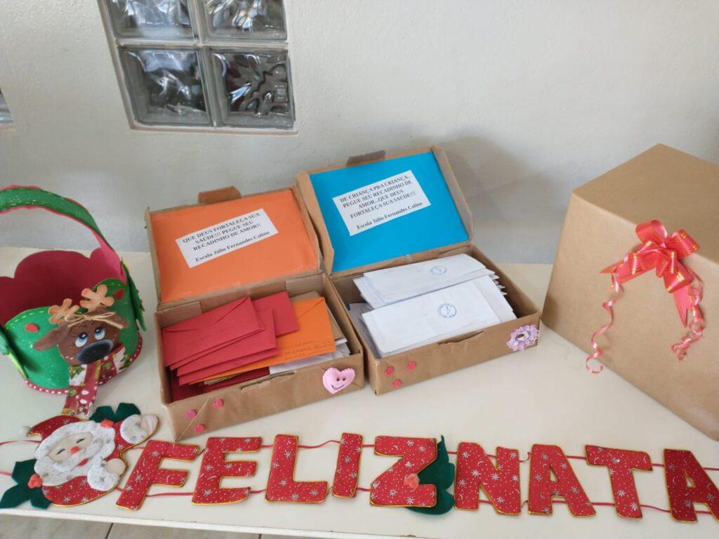 """Escolas Joaquim Marques de Souza e Júlio Fernandes Colino realizam projeto """"Ação de Amor"""" para pacientes em tratamento no Instituto do Câncer de Três Lagoas 5"""