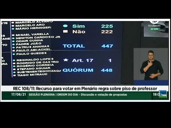 Piso dos professores: Câmara aprova recurso para votar reajuste em Plenário 45