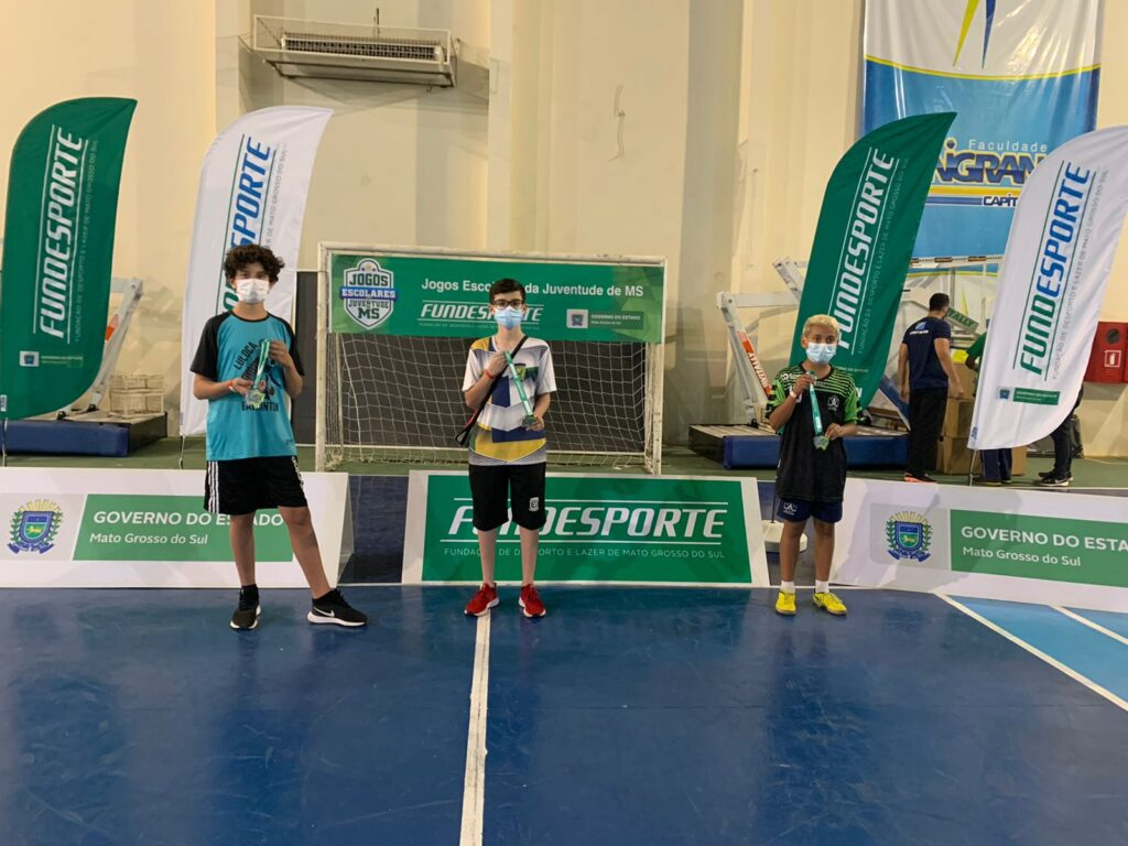 Jogos Escolares – Atletas de Três Lagoas conquistam 04 medalhas de ouro, 03 prata e 02 bronze nas modalidades individuais e garantem vaga na fase nacional 12