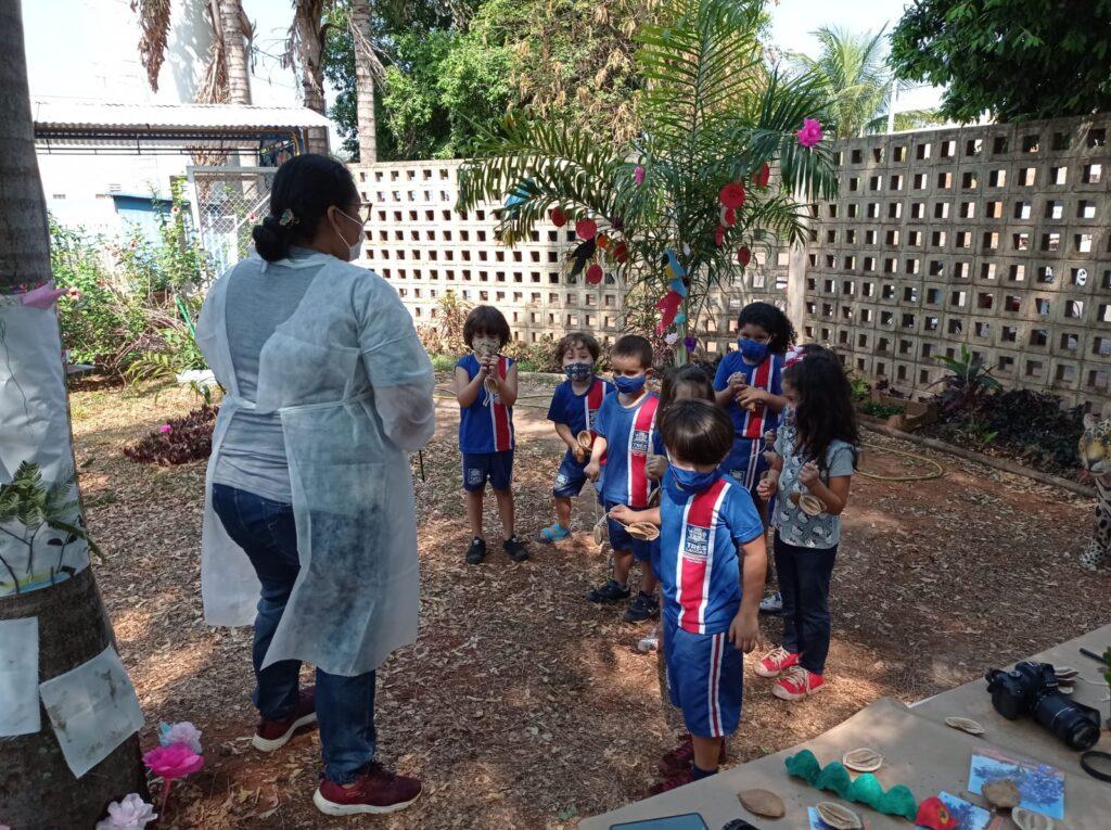 CEI Olga Salati Marcondes realiza Semana da Criança com muito aprendizado, diversão e contato com a natureza 2